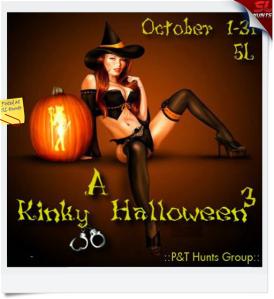 A Kinky Halloween hunt 3 Poster