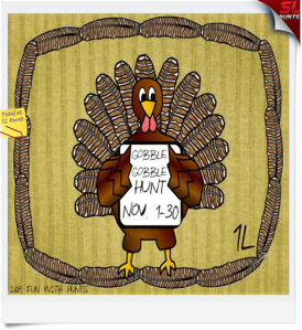 Gobble Gobble Sign