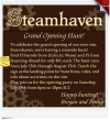 Steamhaven Grand Opening Hunt