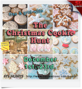 Fi's Hunts - Christmas Cookie Hunt - Poster Image