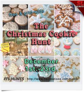 Fi's Hunts - Christmas Cookie Hunt - Poster Image