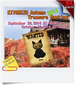 KIYOMIZU autumn Treasure Hunting 2014