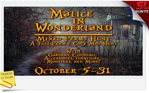 Malice in Wonderland Hunt
