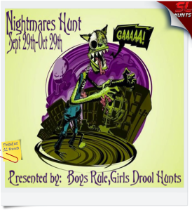 Nightmares Hunt Sign