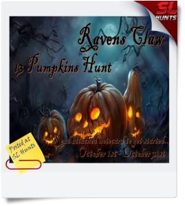 Ravensclaw 13 Pumpkin Hunt