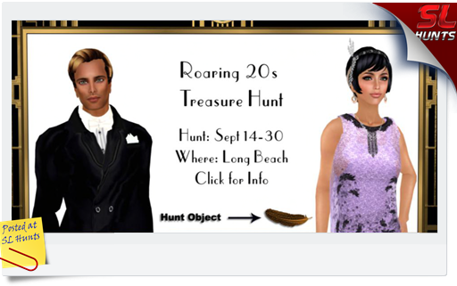 Roaring 20's Treasure Hunt