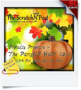 The PumpkiN HuNt 2014 Poster (Talitha Midal)