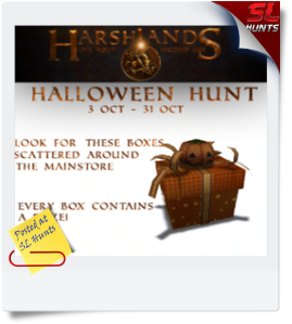 Harshlands Halloween Hunt