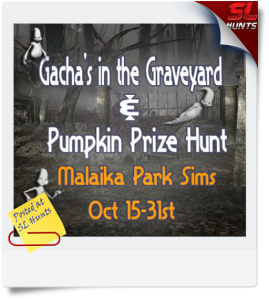 Pumpkin Prize Hunt