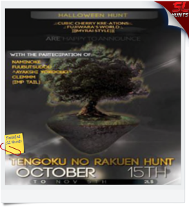 Tengoku no Rakuen Halloween hunt