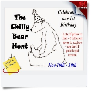 chilly bear hunt poster