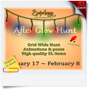 After Glow Hunt Poster