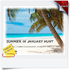 summer in january hunt LOGO - Cheryne Jewell