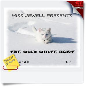 The wild white hunt logo - Cheryne Jewell