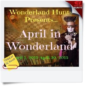 SLHunts-April in Wonderland sign