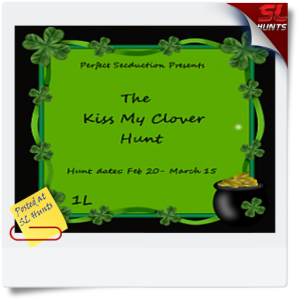 SLHunts-kiss my clover hunt
