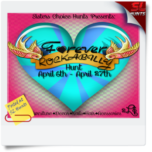 SLHunts-SCH Forever Rockabilly Hunt Poster {V1}