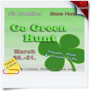 SLHunts-Fi_s_Creations_-_Go_Green_Hunt_-_Poster_Image