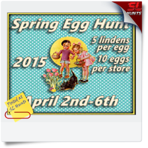 SLHunts-Spring Egg Hunt