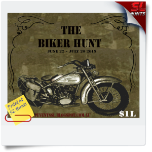 SLHunts-the biker hunt poster