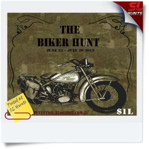 SLHunts-the biker hunt poster
