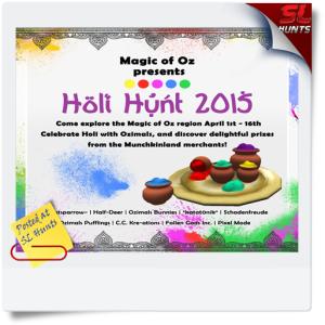 SLHunts-Magic_Of_Oz_Presents_Holi_Hunt_2015_Ad