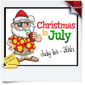 SLHunts-Xmas in July