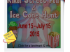 Kikai Street Fair and Ice ConeHunt