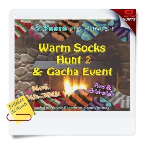 SLhuntswarm socks