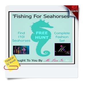 SLhunts'Fishing For Seahorses' FREE Hunt Ad