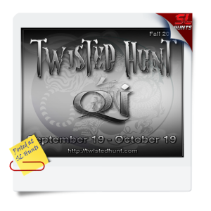 SLhuntsTwisted Hunt Qi Poster - September 19-October 19