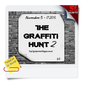 SLhuntsgraffiti hunt 2
