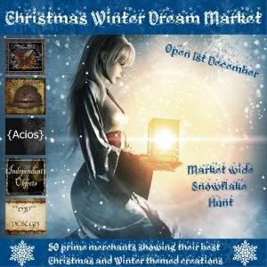 Winter Christmas Dream Market 1201-1226
