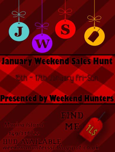 January Weekend Sales 0115-0117
