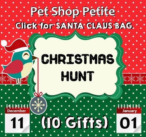 Pet Shop Petite Christmas Hunt 1211 - 0101
