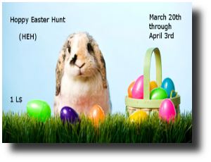 Hoppy Easter Hunt 0320-0403