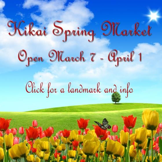 Kikai Spring Market 0307-0401