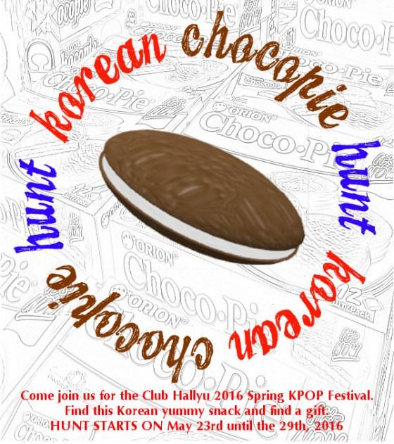 Korean Chocopie Hunt 0523-0529