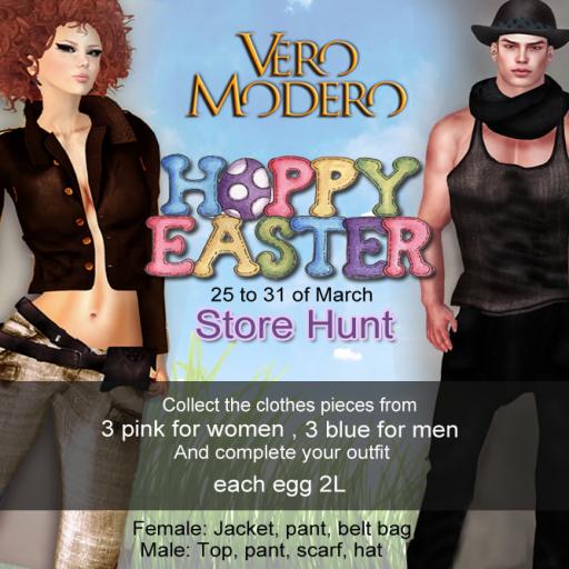 Vero Modero Hoppy Easter Store Hunt 0325-0331