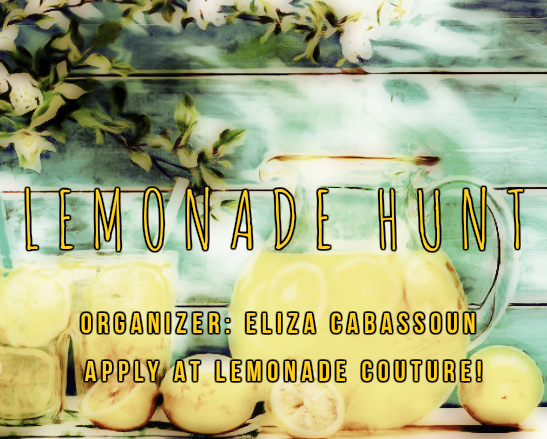 Lemonade Hunt 0815-0915