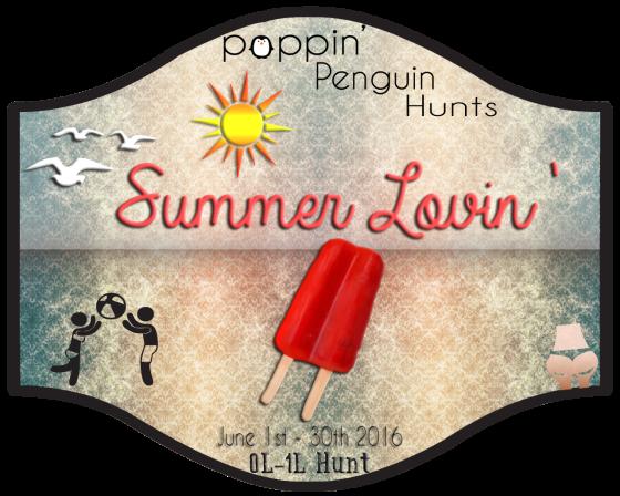 Poppin' Penguin Hunts Summer Lovin' 0601-0630