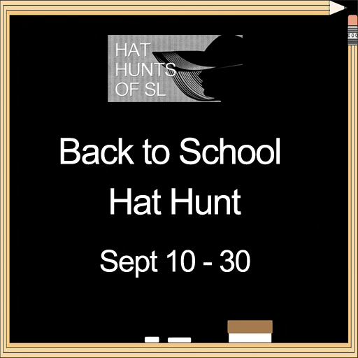 Back to School Hat Hunt Poster