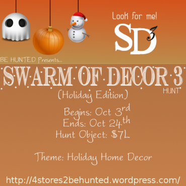Swarm of decor 1003-1024