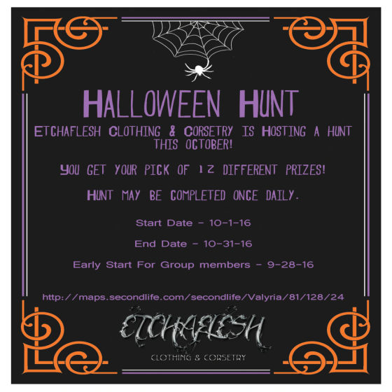etchaflesh-halloween-hunt-poster